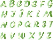 Alphabet de source Images libres de droits