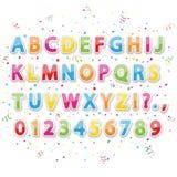 Alphabet de vacances Photo libre de droits