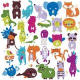 Alphabet de zoo Photo libre de droits