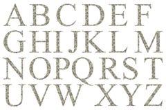 Alphabet des dollars Photographie stock libre de droits