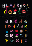 Alphabet Design Stock Image