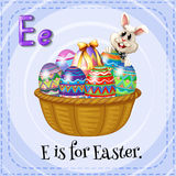 Alphabet E is for Easter