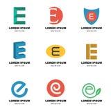 Alphabet e logo Royalty Free Stock Photo