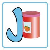 Alphabet für Kinder Stockbild