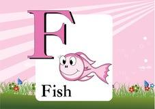 Alphabet-F Royalty Free Stock Photo
