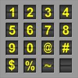 Alphabet Flip Board Royalty Free Stock Photos