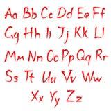 Alphabet Font Stock Photography