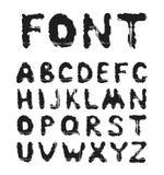 Alphabet grunge Images libres de droits