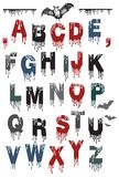 Alphabet for Halloween Stock Images