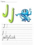 Alphabet handwriting series Stock Photo