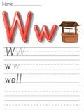 Alphabet handwriting series Stock Photos