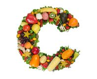 Alphabet of Health - C Royalty Free Stock Image