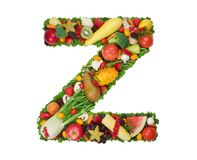 Alphabet of Health - Z Royalty Free Stock Photos