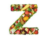 Alphabet of Health - Z Royalty Free Stock Photos