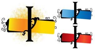 Alphabet i vector Royalty Free Stock Photography
