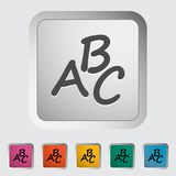 Alphabet icon Stock Photos