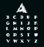Alphabet  illustration. Stock Photography