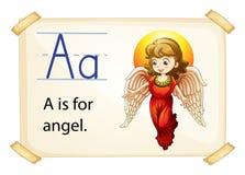 Alphabet A Stock Image