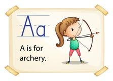 Alphabet A Royalty Free Stock Image