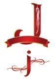 Alphabet j Royalty Free Stock Image
