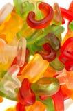 Alphabet jelly candies Stock Photo