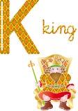 Alphabet k royalty free stock photo