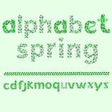 Alphabet leaf Royalty Free Stock Photography
