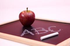 Alphabet learning Stock Image