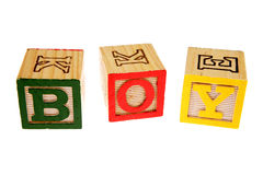 Alphabet learning blocks Royalty Free Stock Photography