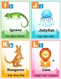 Alphabet learning book page 3 Royalty Free Stock Photo