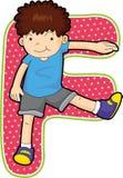Alphabet letter Stock Image
