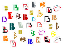 Alphabet letter B Royalty Free Stock Photography