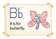 Alphabet letter B Stock Image