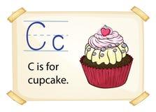 Alphabet letter C Stock Image
