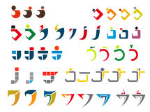 Alphabet letter J Stock Photos