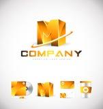 Alphabet letter M logo icon design Stock Photos