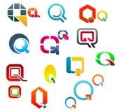 Alphabet letter Q Royalty Free Stock Photos