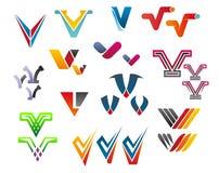 Alphabet letter V Royalty Free Stock Photo