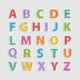 Alphabet letter Royalty Free Stock Photo