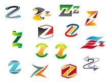 Alphabet letter Z Stock Image