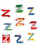 Alphabet letter Z Royalty Free Stock Photography