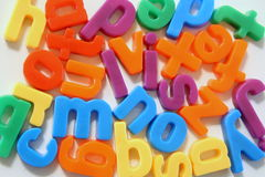 Alphabet letters. The letters of the alphabet mixed up Royalty Free Stock Images