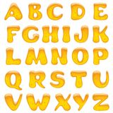 Alphabet letters Royalty Free Stock Images