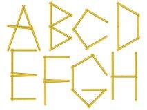 Alphabet letters vector illustration