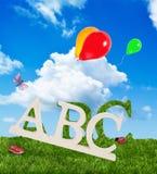 Alphabet Letters Stock Photo