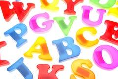 Alphabet letters Stock Photos