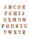 Alphabet letters 3D. Alphabet letters, isolated on white 3d reder Stock Photos
