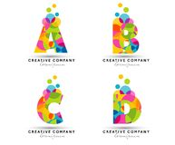 Alphabet Letters Logo Stock Photography