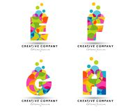 Alphabet Letters Logo Stock Images