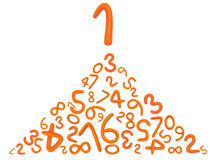 Alphabet Letters Number Plasticine Stock Images